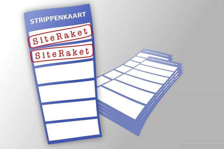 Website onderhoud strippenkaart