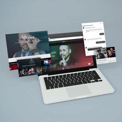 Een nieuwe website voor Magic Mike, één van Nederlands meest geboekte goochelaars.